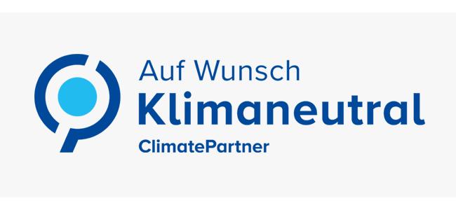 Banner Klimaneutral