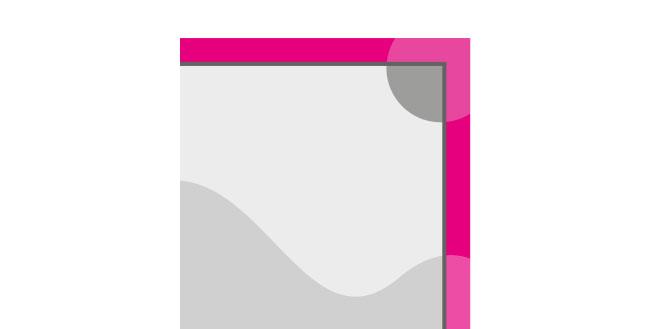 Icon Beschnitt Druckvorgaben